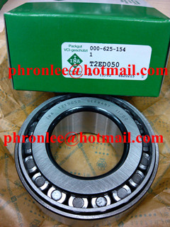 T2EE100 Tapered Roller Bearing 100x165x47mm