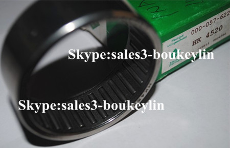 HK4520 Drawn Cup Needle Roller Bearing 45x52x20mm