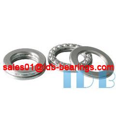51306 Thrust Ball Bearings 30X60X21MM