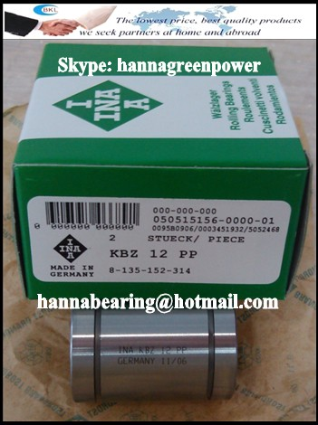 KBZ 24-PP Linear Ball Bearing 38.1x60.325x76.2mm