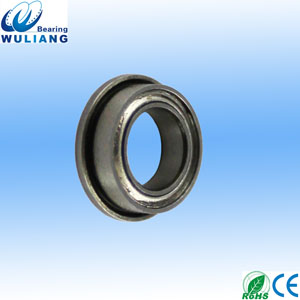 SMF104ZZ miniature flange bearing 4x10x4mm