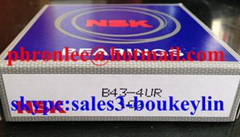 B43-4 Deep Groove Ball Bearing 43x87x19.5mm