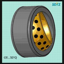 GE200XF/Q Maintenance Free Joint Bearing 200mm*290mm*130mm