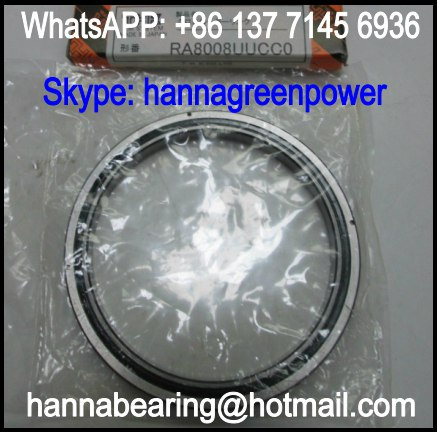 RA5008UC1 Separable Outer Ring Crossed Roller Bearing 50x66x8mm