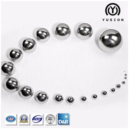 60.325mm Yusion Chrome Steel Ball/Bearing Ball AISI 52100