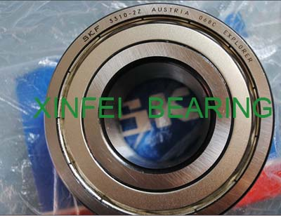 3301-2Z double row angular contact ball bearing 12x37x19mm