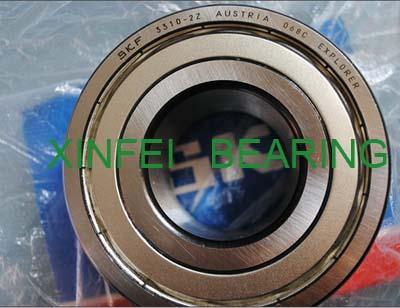 3313A-2RS1 double row angular contact ball bearing 65x140x58.7mm