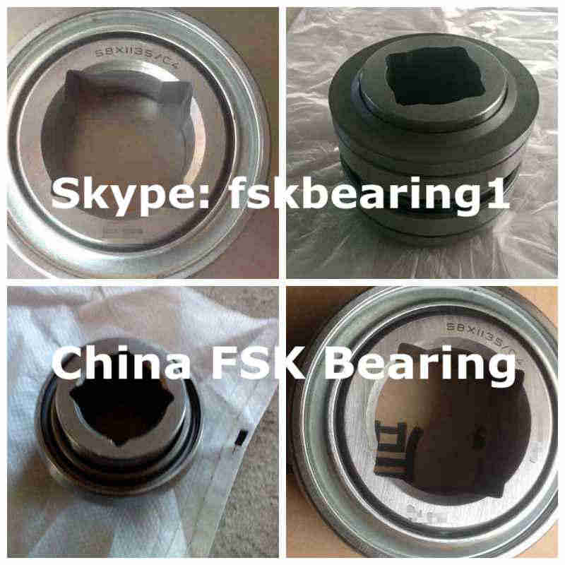W208PPB4 AgriculturalInsertBearing SquareBore 30.175x80x30.18mm