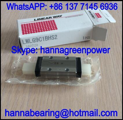 LWLG9B Linear Guide Block / Linear Way 20x40.5x10mm