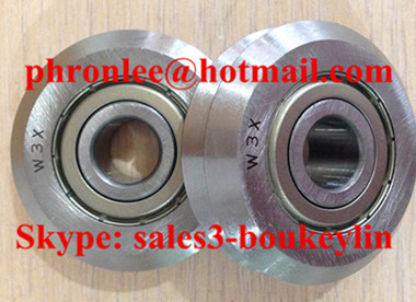 W0 Track Roller Bearing 4x14.84x6.35mm