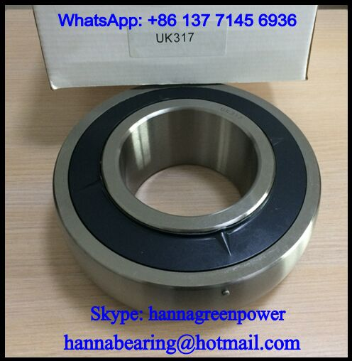 UK317 Shaft 75mm Insert Ball Bearing 75x180x60mm