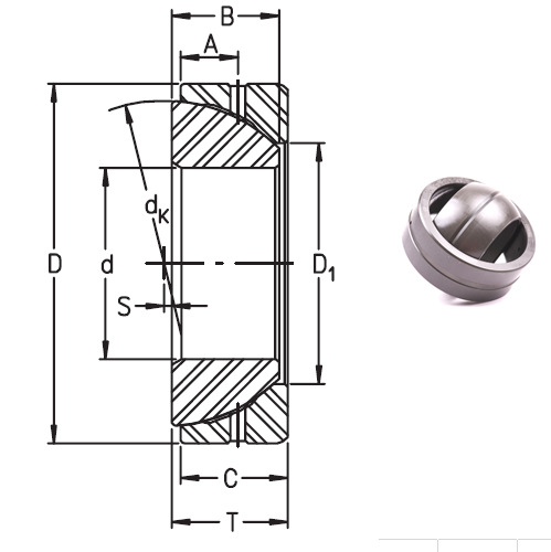 GE28SX bearings Manufacturer, Pictures, Parameters, Price, Inventory status.