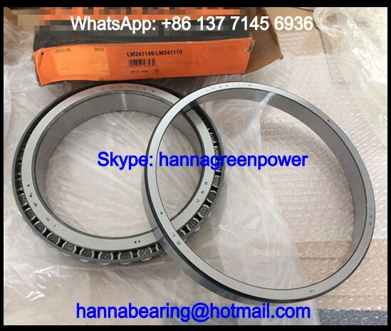 LM241110/LM241149 Tapered Roller Bearing 203.2*276.225*42.863mm