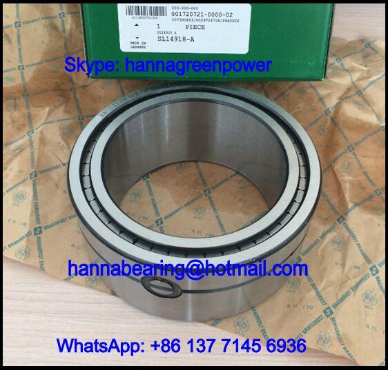 SL14922 Three Row Cylindrical Roller Bearing 110x150x59mm