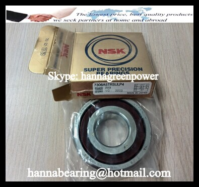 7306A5TRSULP4 Angular Contact Ball Bearing 30x72x19mm