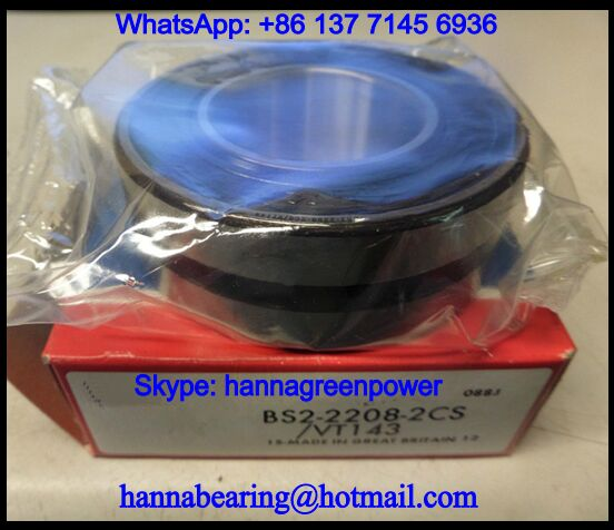 BS2-2308-2CS/VT143 Sealed Spherical Roller Bearing 40x90x38mm