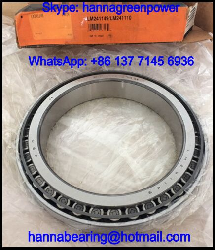 LM241149 90018 Double Row Taper Roller Bearing 203.2x276.352x90.424mm