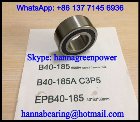 EPB40-185A-2RS High Speed Ball Bearing 40*80*30mm