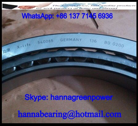 540085 Single Row Taper Roller Bearing 500x620x80mm