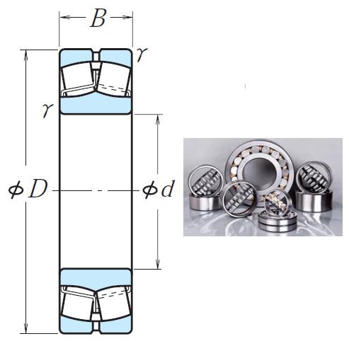 230/530CAE4 Spherical Roller Bearings 530*780*185mm