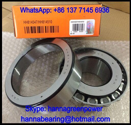 814547/10 Single Row Taper Roller Bearing 66.675x152.4x53.975mm