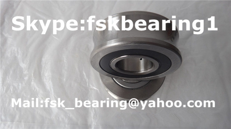 rubber seal R 5207-30 2RS track roller bearing 30x80x27mm