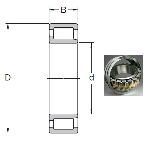 NJG 2334 VH Cylindrical Roller Bearings 170*360*120mm